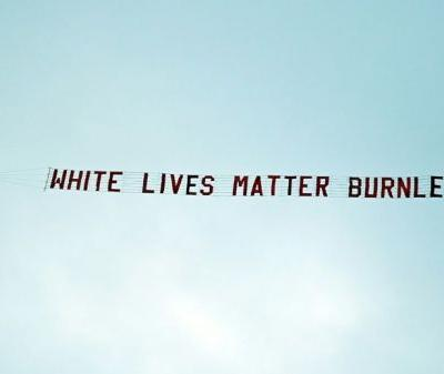 Change 'unstoppable', say football anti-racism campaigners after banner stunt