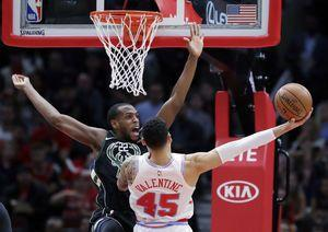 Bucks overcame sluggish start to beat Bulls 118-105