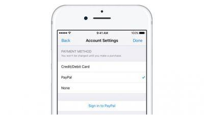 PayPal payments are now finally available on Apple's iTunes - in certain regions