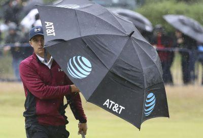 Finau's 73 makes the cut at storm-battered British Open