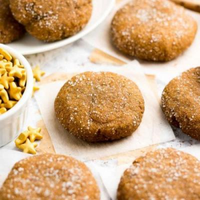 The Ultimate Healthy Gingersnaps