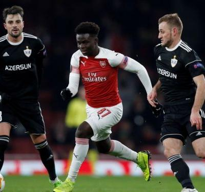 'He is very important for us' - Emery excited by Saka's Arsenal debut