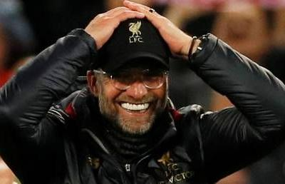 'These boys are f*cking giants': Klopp drops on-air F-bomb after Liverpool heroics