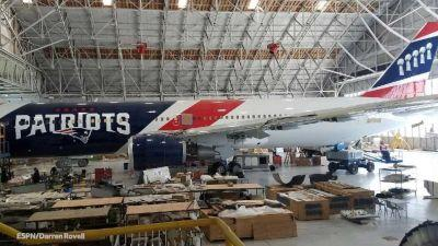 Patriots become first NFL team to buy planes, says ESPN