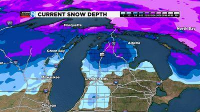 Serious shot of Arctic air headed for West Michigan