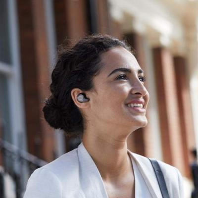These $120 Jabra Elite 65t are wire-free and also have access to Siri