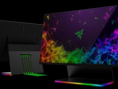 CES 2019: Razor Displays The Razor Raptor Gaming Monitor