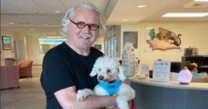 Billy Connolly's New Rescue Dog Looks Just Like Him