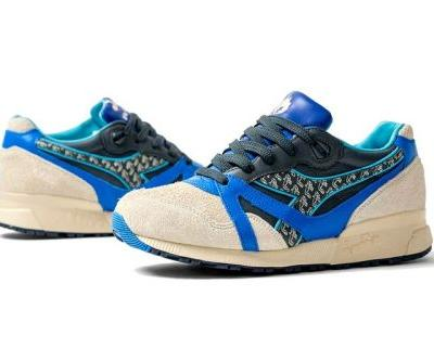 """HANON x Diadora N.9000 """"Pictish Warrior"""" Is Inspired by an Ancient Scottish Tribe"""