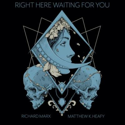 """Richard Marx & Trivium's Matt Heafy Have Turned """"Right Here Waiting"""" Into A Triumphant Metal Rager"""