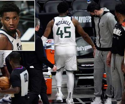 Donovan Mitchell insists he's 'good' for Jazz's Game 4 after another ankle scare