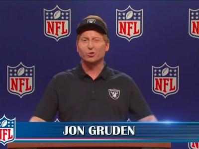 Saturday Night Live Cold Open Mocks Jon Gruden and NFL Following Email Scandal
