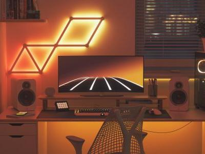 Nanoleaf Launches Lines LED Light Bars, The First Ever Modular Lighting Beam with Backlit Illumination