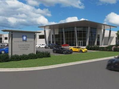 GM Breaks Ground At Its Charlotte Racing Technical Center