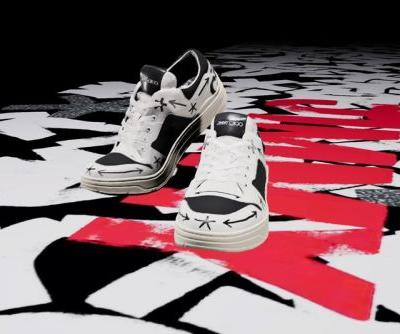 Jimmy Choo Teams Up With Eric Haze and Poggy for Limited-Edition NFT