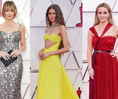 The biggest red-carpet jewelry from the 2021 Oscars and Golden Globes