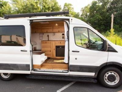 This Ford Transit Van Camper Conversion Looks Cozier Than A House