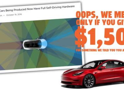 Tesla Is Going To Make Many Owners Pay $1,500 For FSD Hardware They Already Bought