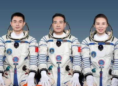 Chinese crew launches to new space station - including station's first woman