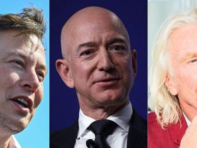 NASA is keeping a watchful eye on Jeff Bezos and other billionaires competing in the space race, according to the agency's chief