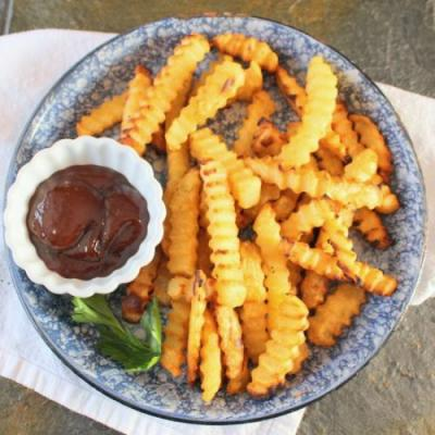 Grilled Crispy French Fries