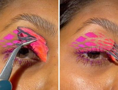 This Viral Eyeshadow Hack Is So Satisfying
