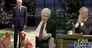 The Poem Jimmy Stewart Read About His Dog Beau Made Johnny Carson Tear Up