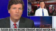 Tucker Carlson Offers Most Insincere Response To Pete Buttigieg Attack Backlash