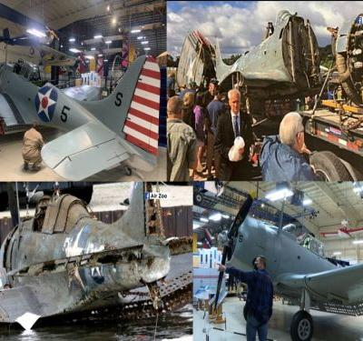 'This is big': World War II Navy bomber restored, next stop Pearl Harbor National Museum