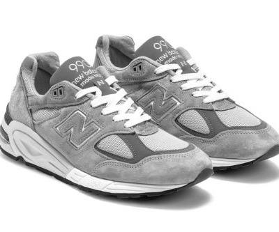 New Balance 990v2 Just Dropped in a Signature Gray Colorway