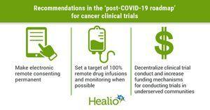 Keep some pandemic-initiated changes to cancer clinical trials, task force members urge