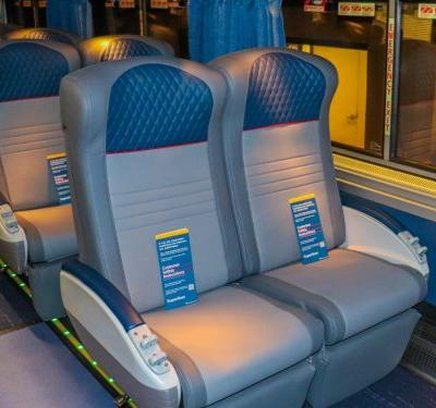 Amtrak just debuted upgraded long-distance trains that will transform rail travel in America with new seats and rooms - see inside