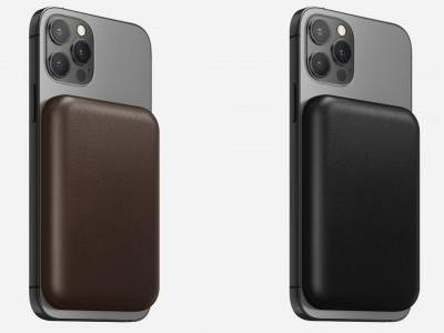 Nomad Opens Pre-Orders for $35 Leather Cover for Apple's MagSafe Battery Pack