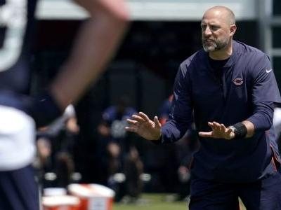 Educating players on the COVID-19 vaccine is a priority for Matt Nagy & the Bears