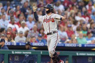 Dansby Swanson belts grand slam for Braves in 7-2 win over Phillies