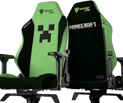 Official Creeper Minecraft Gaming Chair