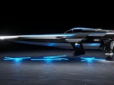 The E1 Electric Powerboat Championship Racebird Boat Looks Straight Out Of Star Wars