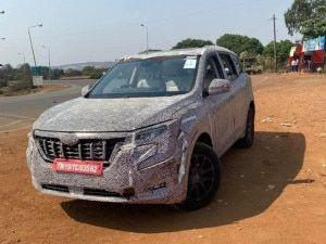 Mahindra XUV700s Lower-spec Variant Interior Seen Ahead Of Debut