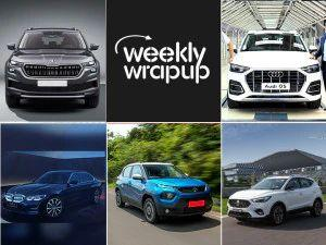 Top Car News This Week MG Astor BMW 3 Series GL Iconic Edition And Kia Sonet Anniversary Edition Launched Tata Punch Facelifted Skoda Kodiaq Launch Timelines And More