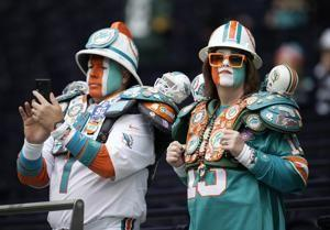 The Latest: Raiders, Broncos start fast for a change