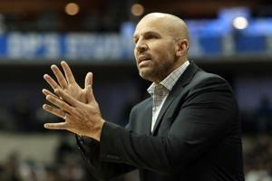 Mavs welcome back Kidd as coach, along with new GM Harrison