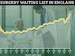 Fixing NHS waiting times could cost £40BILLION, leaked No10 estimates show