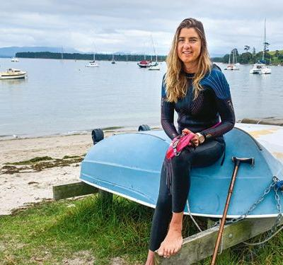 Why Joni Bentham took the plunge into ocean swimming - and how it rewarded her in return
