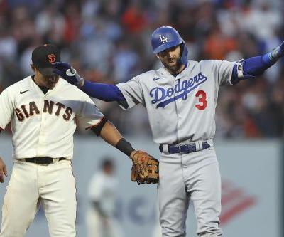 LEADING OFF: Dodgers-Giants in NLDS winner-take-all Game 5
