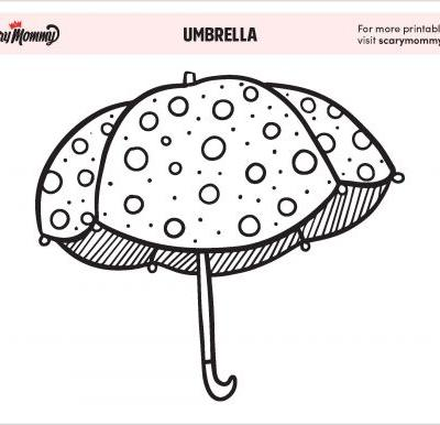 Let It Rain! These Umbrella Coloring Pages Will Keep Your Kiddo Entertained