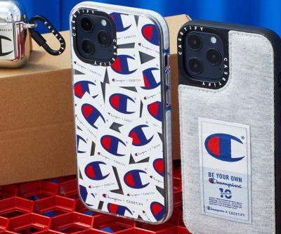 CASETiFY Turns Champion's Reverse Weave Sweater Into iPhone Cases