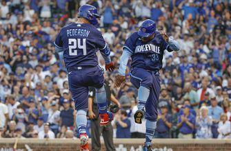 Cubs launch three homers in 7-2 win over Cardinals