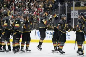 Marchessault's hat trick lifts Vegas to 5-1 win over Avs
