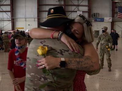Iowa National Guard soldiers return home after deployment in Kosovo