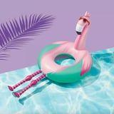 This $10 Flamingo Pool Float From Target Features Hot Pink Legs, and It's a Sight to See